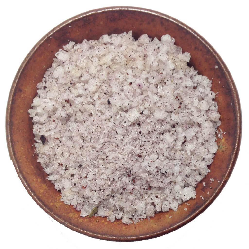Bowl of australian salt