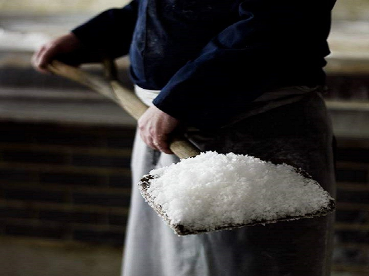 How sea salt is made